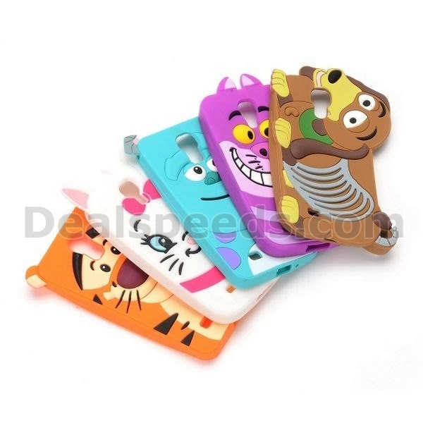 3D Cartoon Pattern Design Soft Silicon Case for Samsung Galaxy S4 i9500 i9505 i9508 i9509