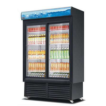 Fan Cooling 475L 0~10C Digital Control Commercial Display Cabinets Cold Drink Refrigerator Cooler