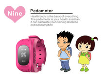 new fashion arrival SOS alert gps track kids watch