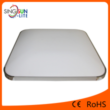 CE RoHs High Brightness Fire Rated Double Colors Ultra Slim Surface Mounted SMD5730 Dimmable LED Square Ceiling Light