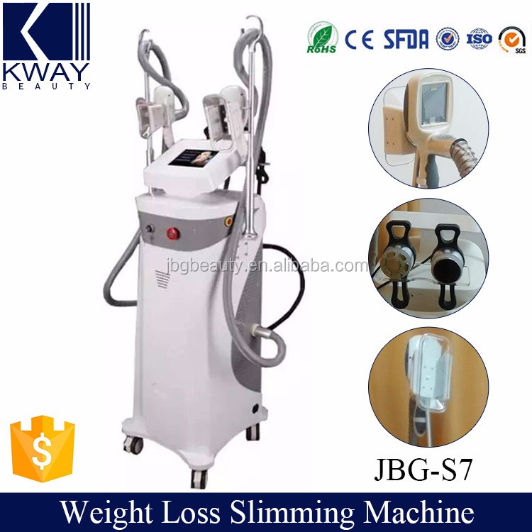 3 in 1 multi-functional cool tech fat freezing machine combine with rf and vacuum cavitation slimming theory
