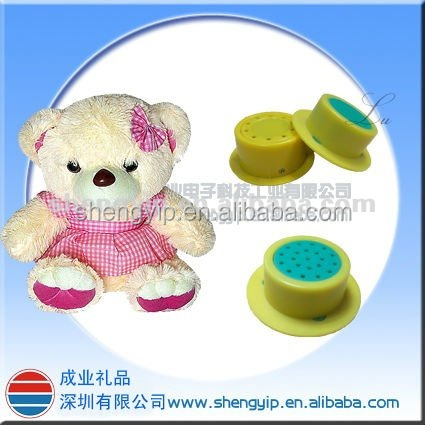 Voice box for plush toy and doll