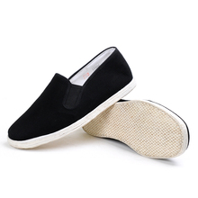 Simple slip-on Old beijing colth shoes men walking canvas casual shoes made in China
