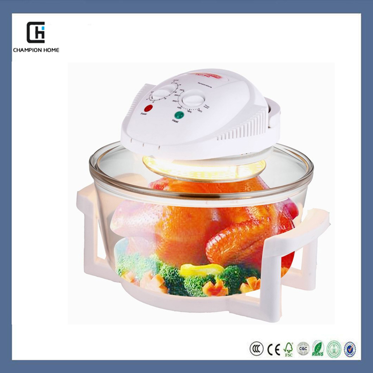 kitchen appliances 3.5L mini halogen glass convection oven
