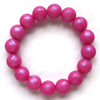 2016 Food grade colorful silicone beaded bracelet/Wristbands baby bracelet