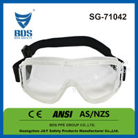 Body transparent ce en 166 basketball safety goggles