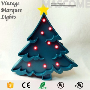 3 Voltage led lighted letters for merry christmas made in China