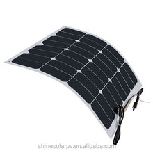 Hot-sell competitive 50w flexible Solar Panel price/PV Module/solar panel system