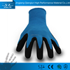 QL Latex dipping flowers and plants latex coated work gloves