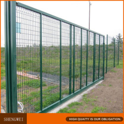 Shengwei fence - Powder coated folding guard iron wire mesh fence