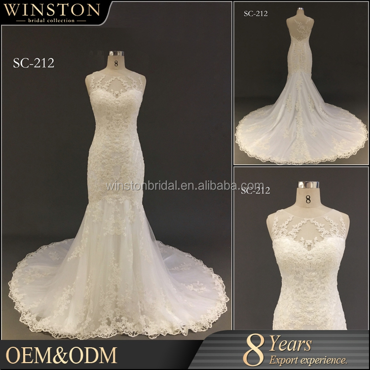 New arrival product wholesale Beautiful Fashion wedding dress real pictures of alibaba wedding dress