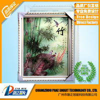 Framed decorative 3D Art Home frames wall hanging pictures