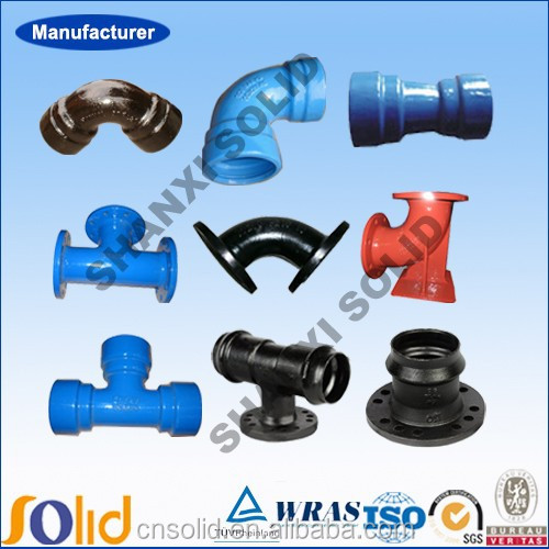 En ductile iron pipe fittings for african and south