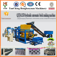 factory directly QTJ4-18 paver vibration moulding machine/paver blocks making vibrator