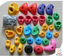cheap price rock climbing stones for kids,indoor and outdoor climbing holds set