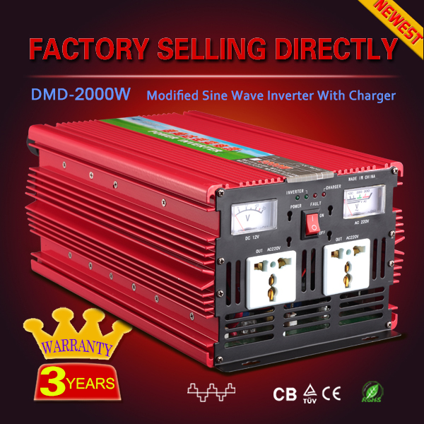 CE RoHS 24v 48v 500w 1000w 1200w 2000w Power inverter kit with charger and inverter for solar system