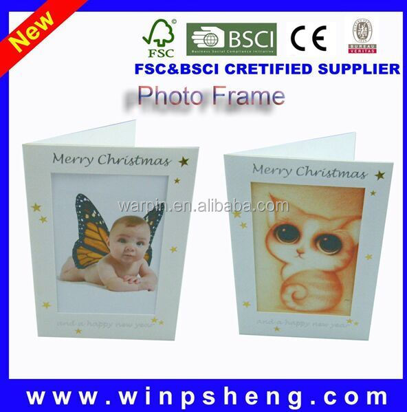 Latest model spectacle photo insert frame card