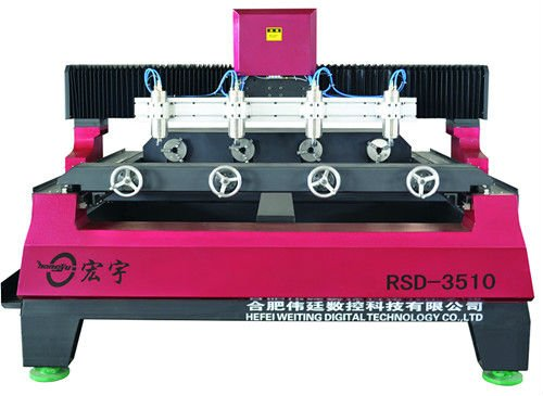 fresadora+cnc+5+ejes RSD-3510 hot sale cnc machine with rotary axis for 3D carving