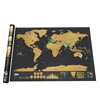2017 Wholesale Black Scratch Map Deluxe