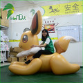 Adorable Cartoon Inflatable Rabbit , PVC Inflatable Bunny Animal Toy From Hongyi