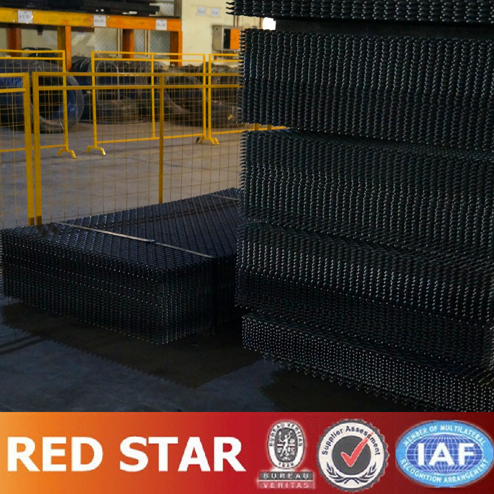 Long Working life and High Tensile 65 MN Crimped Wire Mesh for Aggregate