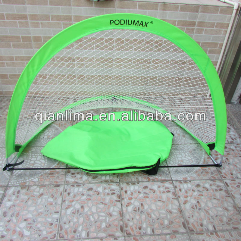 FREESH Set of TWO (2) Portable Trainer Soccer Sports Goal Pop Up Goals