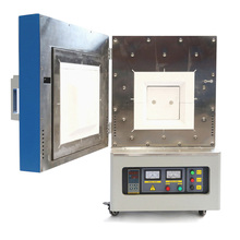 PID micro digital screen biobase 1200 temp laboratory electric ceramic fiber muffle furnace cheap price