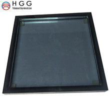 Custom Size Shape tempered glass double glazed glass thickness