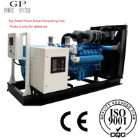 16kw~2200kw ISO9001 CE certificated Rated Power Diesel Generating Set