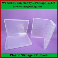 large keyway plastic storage box with lid,storage container,custom logo flat plastic container
