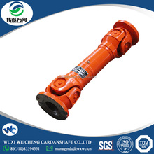 China wholesale power transmission universal shaft coupling SWC180A-700 Medium-sized telescopic structure