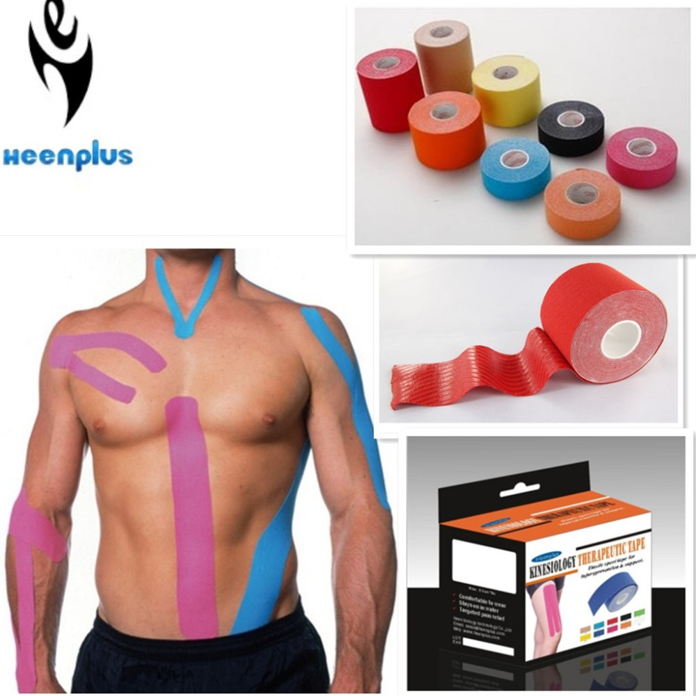 athletic sports kinesiology tape printed sports tape sport strapping tape