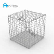 Effective Protection Of Dam flood barrier/pvc coated gabion box/rock basket wire mesh