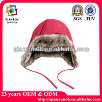 Cute Lady Winter Ear flap Russian Faux Fur SKI Hat