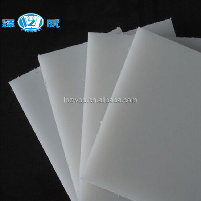 White color Eco friendly pollution free <strong>PP</strong> polypropylene