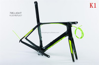 DI2 style super light 795 bicycle toray carbon frames .