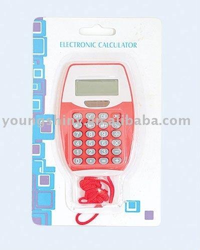 Calculator w/Lanyard