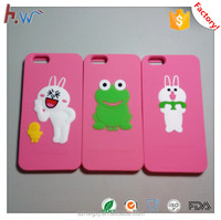 Cute silicone phone case for iphone 6s