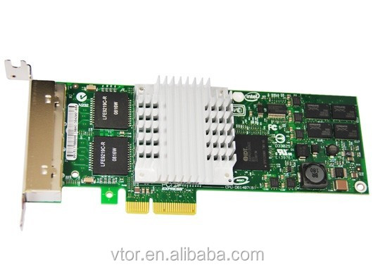 EXPI9404PTL PCI-E four port Gigabit copper server network adapter