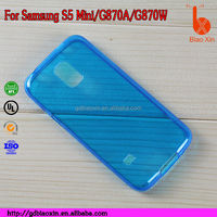Good Quality Cheap Tpu soft Case for Samsung galaxy S5 mini phone cover
