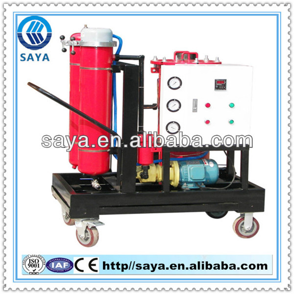 High-Solid LYC -G32 used oil recycle machine has strong self-sucking