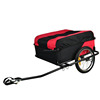 Lightweight Folding Black Red Bicycle Cargo