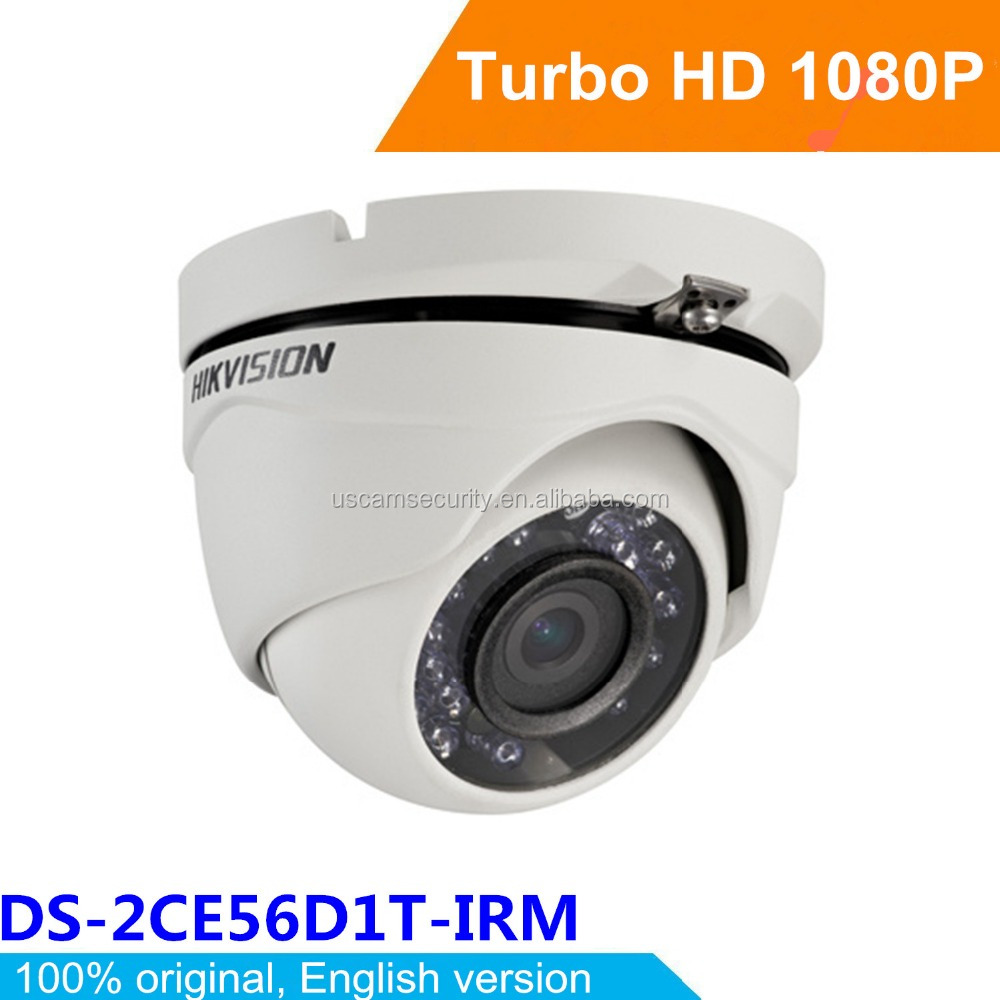 Hikvision 2.0MP CCTV Camera with Voice Recorder Cheap Home Security Camera Systems DS-2CE56D1T-IRM