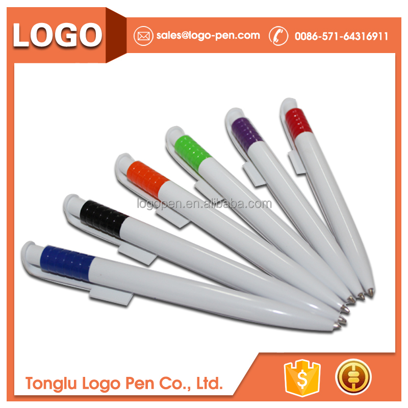 Advertising logo customized plastic pen cute stationery japan