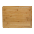 Bamboo Wood Cutting Board with Drip Groove