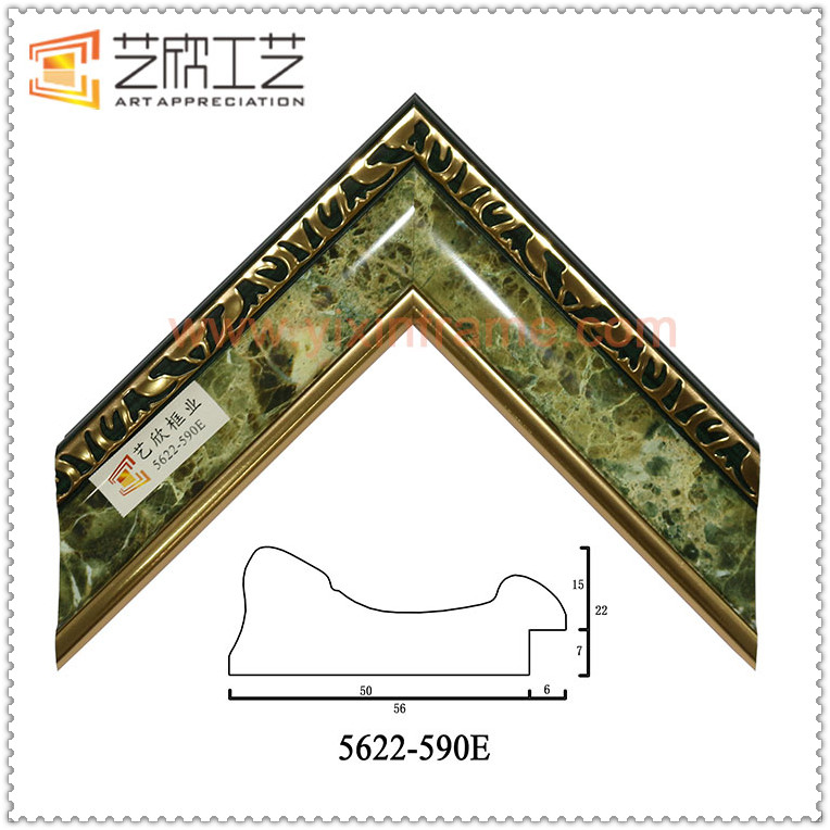 Imitation Marble Photo Frame Mirror Frame Moulding Nice Picture Frames