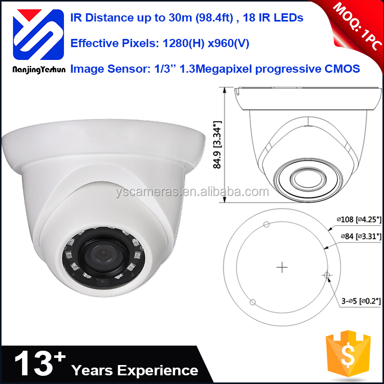 Home security 18pcs IR LEDs 1.3M 720P CIF 16x digital zoom japan security cctv ip camera