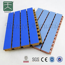 15mm acoustic board melamine slat wall