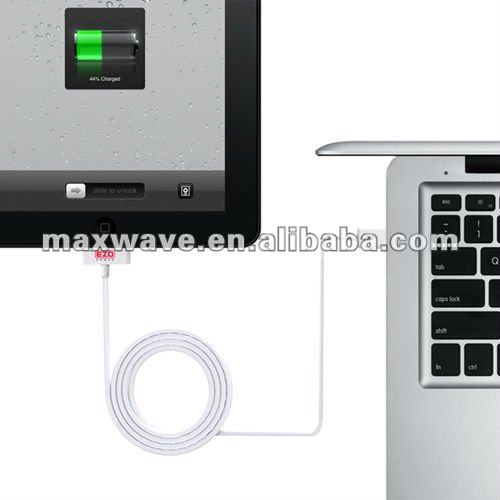 Dock Connector USB Sync & Charging Cable for Apple iPod iPhone iPad