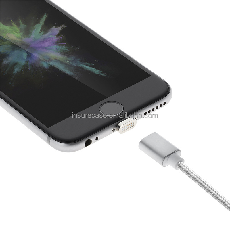 For Apple USB Magnetic Cable 2.4A High Speed and Charge USB Cable Line For iphone 5S SE 6S Plus 7/7Plus